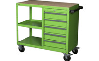 General purpose trolley, with 5 drawers