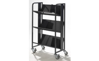 Steel file trolley