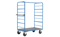 Steel shelf truck