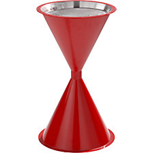 Conical pedestal ashtray