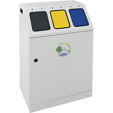 Recyclable waste collector, steel