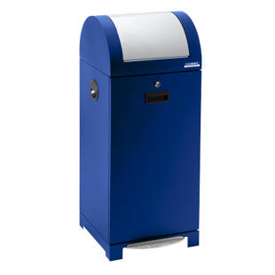 Recyclable waste collector system