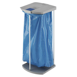 ProfiLine WS waste sack stand set with 250 blue recycling sacks