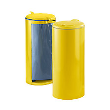 yellow with yellow plastic lid