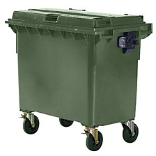 Large waste container compliant with EN 840