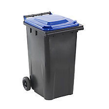 Plastic large waste bin to EN 840