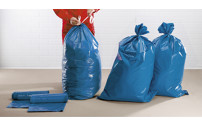 PE pull-string waste sacks