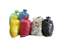PE waste sacks