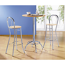 Bar stool with back rest