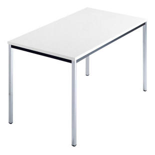 Rectangular table, square tubular steel