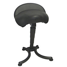 Anti-fatigue stool with comfort seat