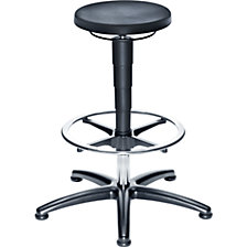 Industrial stool with gas lift height adjustment