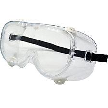 Full vision protective goggles EN 166 (pack of 10 or 200 pieces)