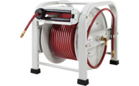 Floor hose reel