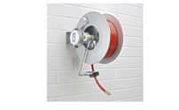 Hose reel for air