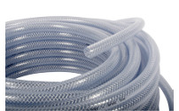 Water hose made of PVC, clear