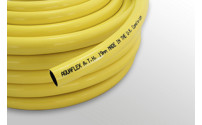 Water hose made of PVC, yellow
