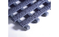 Industrial grid mat, extremely slip resistant