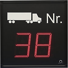 LED display, truck call-up