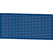Modular system perforated panel for electrically height adjustable LIFT work tables