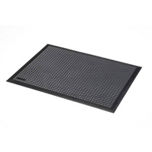 Workstation matting, natural rubber, ESD, studded