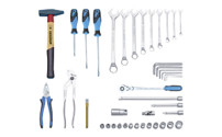 Universal tool assortment