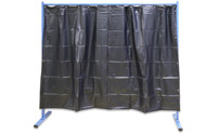 Mobile welding protection screen