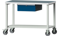 Compact workbench, universal worktop