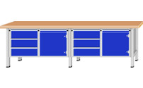 Workbench, extra wide