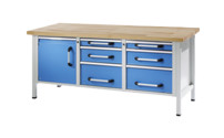 Workbench, sheet steel