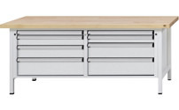 Workbench with XL/XXL drawers