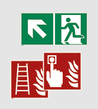 Rectangular signs
