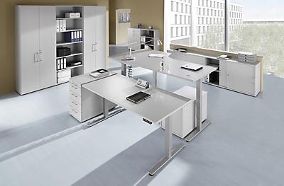 Bureau réglable en hauteur par mécanisme électrique upliner 2.0