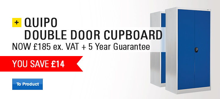 QUIPO double door cupboard