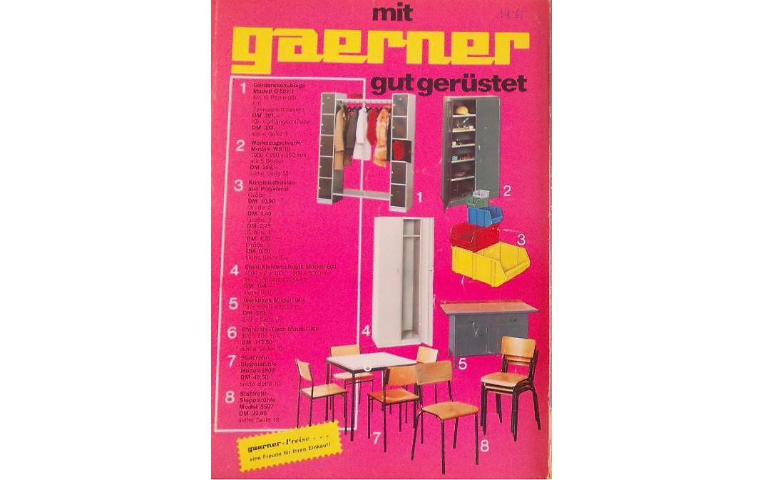 Historie Gaerner – Gruppe wt$